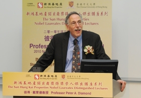 Professor Peter A. Diamond on 'Steps to Limit Future Global Economic Crises'