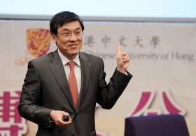 Lecture by Professor T.J. Wong