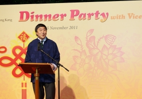 Vice-Chancellor's Dinner Party with International, Mainland and Local Students