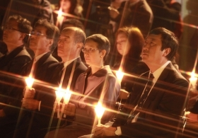 Candlelight Vigil for Victims of Japan Earthquake