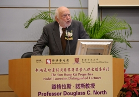Professor Douglass C. North on 'The Dynamics of Societal Change: A New Approach'