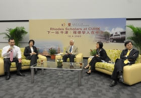 Rhodes Scholars at CUHK
