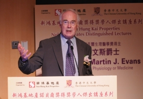 Professor Sir Martin J. Evans on 'The Origins of ES Cells'