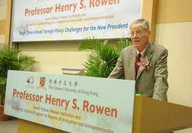 Henry S. Rowen on 'Tough Times Ahead: Foreign Policy Challenges for the New President'