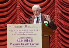 Professor Kenneth J. Arrow on 'Economic Analysis and Social Obligation'