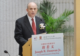Mr. Joseph Donovan on 'Hong Kong's Success is Important to the United States'