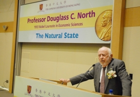Lecture by Professor Douglass C. North, 1933 Nobel Laureate in Economic Sciences on 'The Natural State'