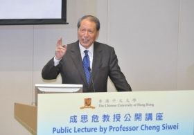 Professor Cheng Siwei on 'A Situation Analysis of the Chinese Economy'