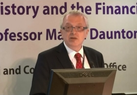 Prof. Martin Daunton on 'This Time It's Different: History and the Financial Crisis