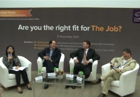 Business School Career Forum: Are you the right fit for The Job?