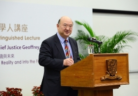 The Honourable Chief Justice Geoffrey Ma on 'The Essence of Our Society: from a Written Constitution to Reality and into the Future 50 Years' (Full Version)