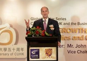 Global Leader Series: 'Global Growth: Opportunities and Challenges in China' by Mr. John Rice, Vice Chairman of General Electric (GE) (Highlight Version)