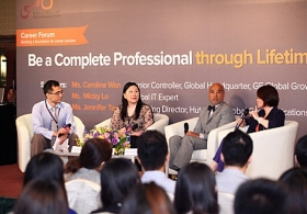 CUHK Business School Career Forum: 'Be a Complete Professional through Lifetime Learning' (Highlight Version)