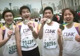 2014 CUHK Marathon Promotional Video