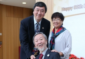 CUHK celebrates Prof. Charles K. Kao's 80th Birthday