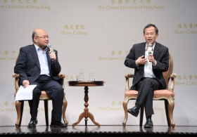 The Honourable Jasper Tsang Yok-sing on 'patriot's view on democracy'
