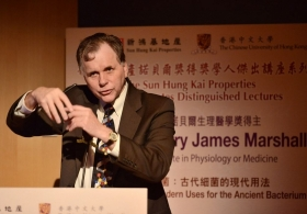 Professor Barry James Marshall on 'Helicobacter Pylori: Modern Uses for the Ancient Bacterium' (Full Version)