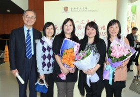 CUHK Presents 2013 Long Service Awards