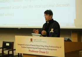 Prof. Duan Li on 'Taking the Challenge in Coping with Time Inconsistency in Dynamic Decision Making' (Full Version)