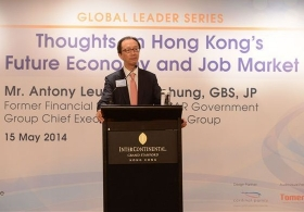 Mr. Antony Leung Kam-chung on 'Hong Kong's Future Economy and Job Market' (Full Version)
