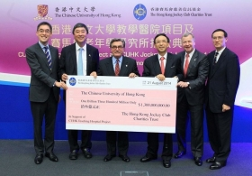 CUHK Teaching Hospital Project and CUHK Jockey Club Institute of Ageing Donation Ceremony (Full Version)