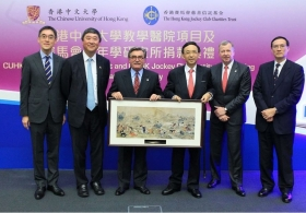 CUHK Teaching Hospital Project and CUHK Jockey Club Institute of Ageing Donation Ceremony (Highlight Version)