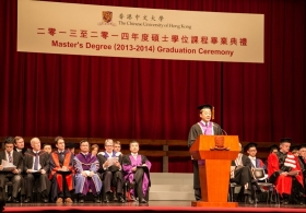 Master's Degree (2013-2014) Graduation Ceremony