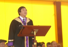 An address by the Vice-Chancellor in 76th Congregation for the Conferment of Degrees