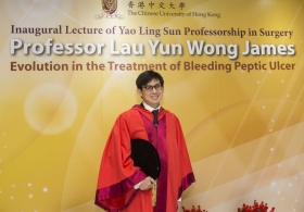 "Professor Lau Yun Wong James on ""Evolution in the Treatment of Bleeding Peptic Ulcer"""