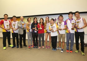 CUHK Marathon Team Award Ceremony 2015 (Highlight Version)