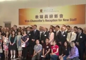 Vice-Chancellor's Reception for New Staff 2015