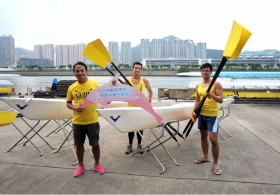 """Pearl River Estuary Challenge"" — Sharing by the CUHK Rowing Team"