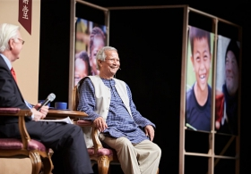 Muhammad Yunus on 'Small Loans for a Big Future' (Full version)