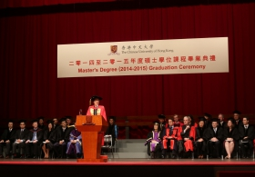 Master's Degree (2014-2015) Graduation Ceremony