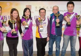 CUHK Marathon Team Award Ceremony 2016