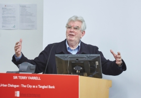 Sir Terry Farrell on 'Urban Dialogue : The City as a Tangled Bank'