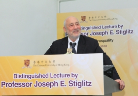 Prof. Joseph E. Stiglitz on 'Global Inequality'