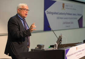 Prof. James J. Heckman on 'Life-Relevant Skills'