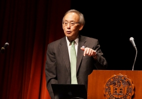 Prof. Steven Chu on 'Energy, Climate Change and a Low Cost Path Forward'