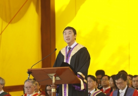 Speech of the Vice-Chancellor in 81st Congregation for the Conferment of Degrees