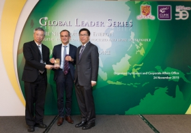 Global Leader Series: Talk by Mr. Jean-Pascal Tricoire, the Chairman and CEO of Schneider Electric (Highlight Version)
