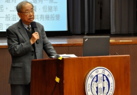 Professor Kwong Kin Hung on 'Hong Kong New-style Wuxia Novels'
