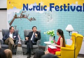 Nordic Imageries – Dialogue between Prof. Joseph Sung and Mr. Patrik Lindvall