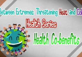 Between Extremes: Threatening Heat and Cold Health Series - Health Co-benefits (English)