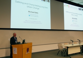 "Prof. Michael Batty on ""Defining and Characterizing Long Term Urban Change"""