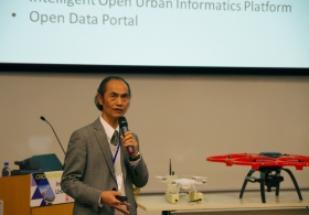 "Prof. Yee Leung on ""CUHK's Research Initiatives on Urban Science and Urban Informatics"""