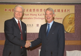 SHKP Nobel Laureates Distinguished Lectures by Professor A. Michael Spence and Professor Sir James A. Mirrlees