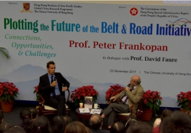 "Prof. Peter Frankopan on ""Plotting the Future of the Belt and Road Initiative: Connections, Opportunities and Challenges"": Q&A"