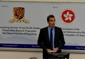 "Prof. Peter Frankopan on ""Plotting the Future of the Belt and Road Initiative: Connections, Opportunities and Challenges"": Keynote Speech"