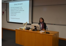 Professor Kayoko Takeda on 'Interpreters at the British war crimes trials against the Japanese in Hong Kong'